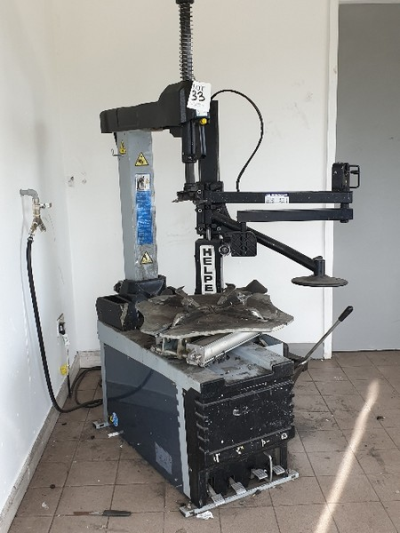 TB Engineering Fitline 32, 240 volt tyre changer with helper 4FD changer attachment …