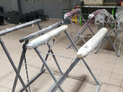 2 - folding spray paint drying stands …