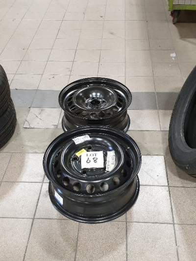 """15"""" and 16"""" steel rims …"""