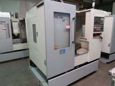 XYZ Mini Mill 560 Vertical Machining Centre with Sinumerik 828D Control, Table Size 610mm x 370mm, 12 Station Tool Chang…
