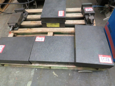 Qty of Granite Surface Blocks 440mm x 300mm (other sizes to add) …