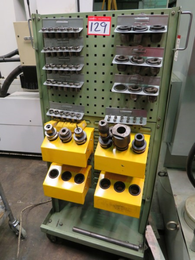Trolley with BT40 Tooling…
