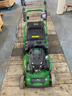 A John Deere Model JX90CB Petrol Engine self propelling Rotary Mower