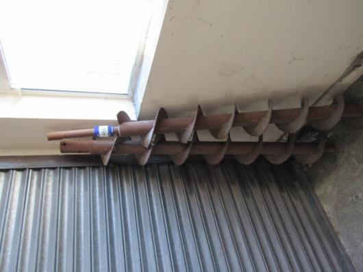 2 Various Augers, approx. 1700mm and 1800mm