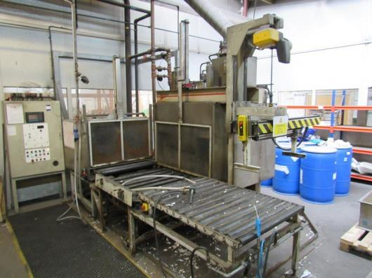Silicon Systems 800 x 8000mm Expander Polystyrene Moulding Oven with
