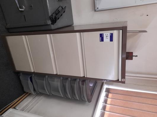 1x 4-Drawer Filing Cabinet and 2x 2-Drawer Cabinets