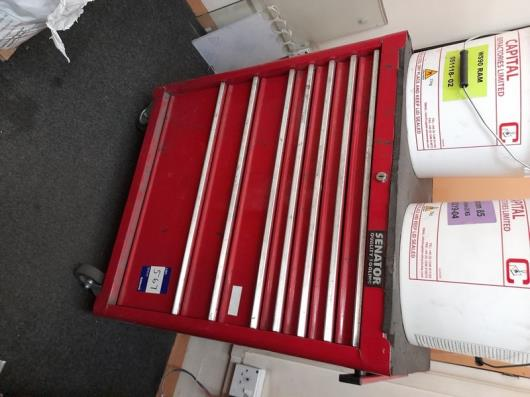 Senator Quality mobile 7 drawer tool chest with contents