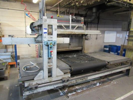 Silicon Systems 1200 x 1200 Expanded Polystyrene Moulding Oven with
