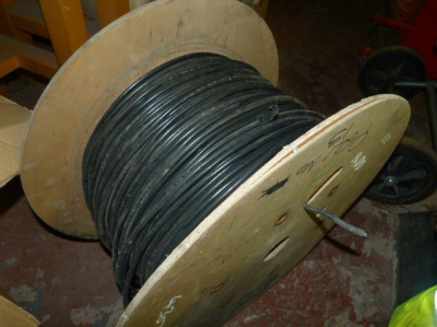 *Large Spool of Two Core Cable