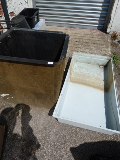 *Large Garden Tray and a Square Pond Liner