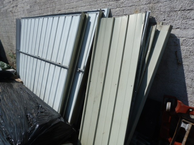 *Dismantled Shed 260x170cm