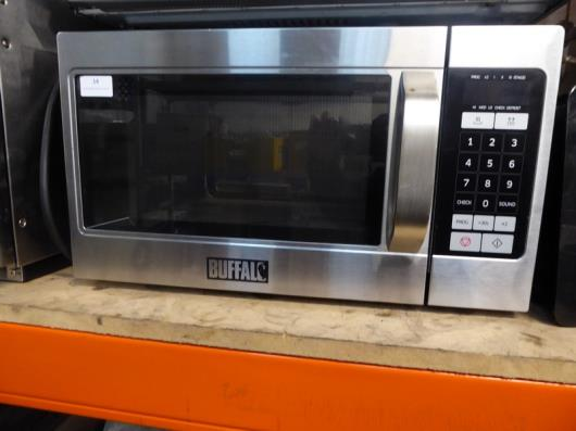 *Buffalo GK642 commercial microwave - good condition with instruction manual