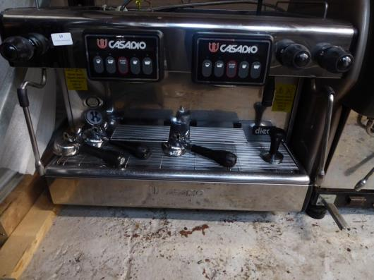 *Casadio by Gruppo Cimbali 2 group espresso coffee machine - with 2 steam wands and 1 hot water