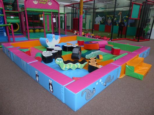 *Soft play court - padded early years soft play - 5170w x 4970d x 400h (approx) with padded animals