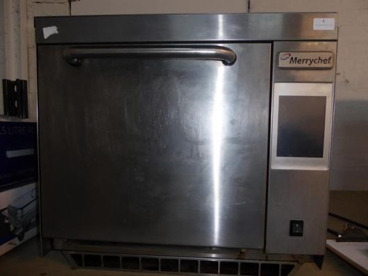 *Merrychef oven - single phase, from a national chain. 600w x 550d x 540h