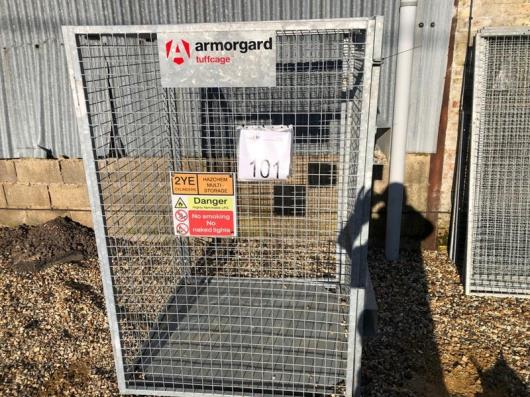 Armourguard forklift cage
