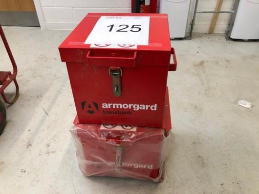 2 x Armourguard boxes as lotted