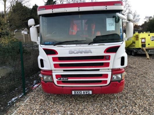 Scania P230  4x 2 tipper, registration no. BX10 AVG, fitted with Proteous type HB9 Hot Box serial no.RMHB0688, 435,815 Kms, MOT Tested Till 31/10/2021