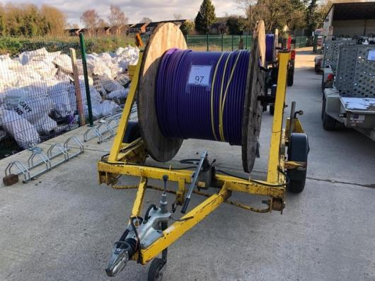 Trailer 8 winch solutions cable drum trailer H1295669 (includes cable drum)