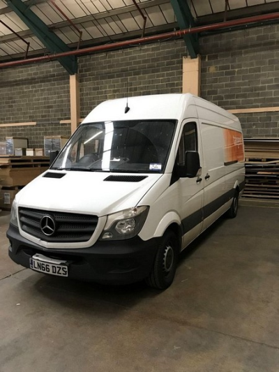 Mercedes Model 313 CDI Panel Van, 2143cc Diesel, Date of Registration: 23/9/2016, Number of Owners: 1, MOT Expires: 22/0…