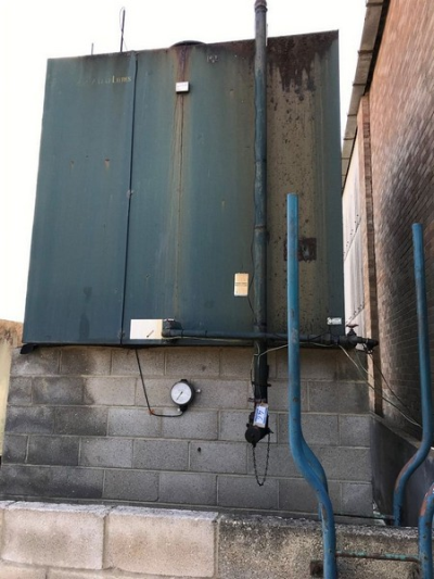 Oil Tank Supplies 22,700 Litre Heating Oil Storage Tank, Serial No. Unknown…