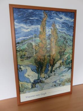 Framed Print of Vincent Van Gogh The Cleveland Museum of Modern Art (26in x 38in)
