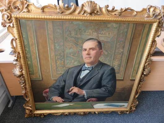 Framed Painting of Sir Frederick Richmond (50in x 47in)