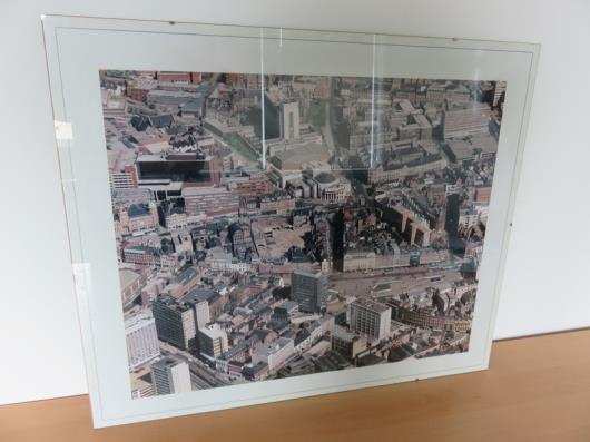 Aerial View of Nottingham (24in x 20in)