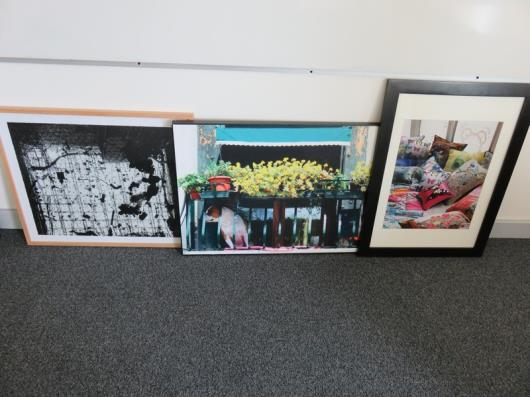 (3) Prints, Various as Lotted