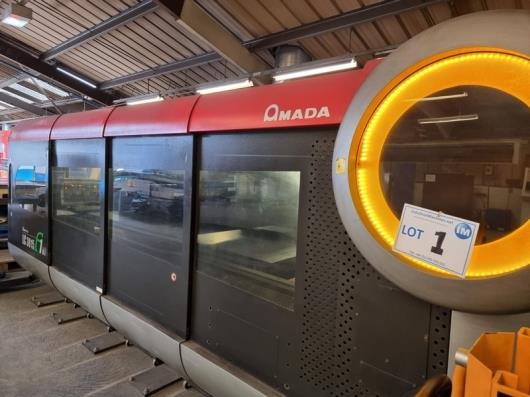 Amada LC3015 F1 NT Complete with MP Flexit 3015 Automation
