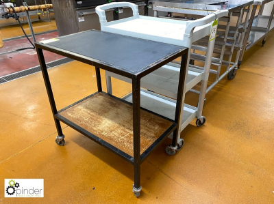 2 multi-shelf Serving Trolleys (located in Main Kitchen, Basement) **** please note this lot needs to be collected eithe…