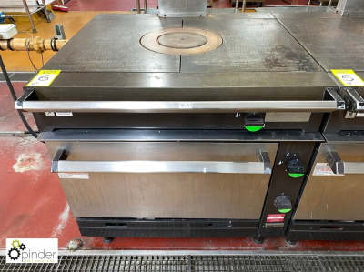 Chieftain Bulls Eye Contact single door gas fired Oven (located in Main Kitchen, Basement) **** please note this lot nee…