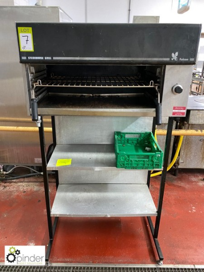 Falcon Steakhouse gas fired Grill, with stand (located in Main Kitchen, Basement) **** please note this lot needs to be …