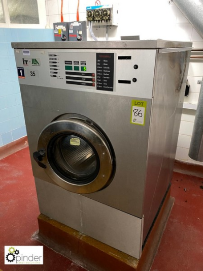 Ipso WE165C Commercial Washing Machine, capacity 165litres, 415volts (located in Main Kitchen, Basement) **** please not…