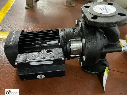 Grundfos MG80B2-19FT100-B Pump, 240volts (please note there is a lift out fee of £5 plus VAT on this lot)…