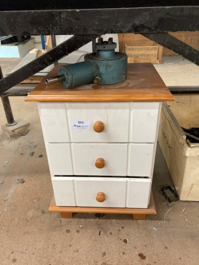 Three drawer unit to include various tooling