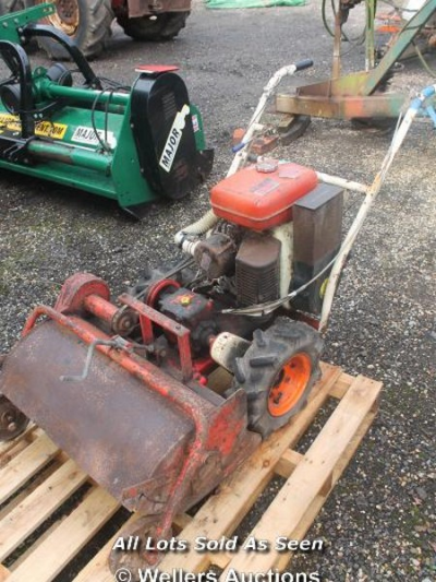 ROTAVATOR WITH ROBIN ENGINE - SPARES AND REPAIR…