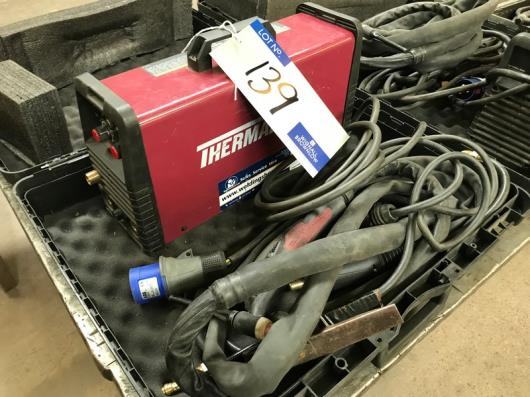 A Thermal Arc 201TS Inverter Portable Tig Welding Set with leads and case, 1 phase.…