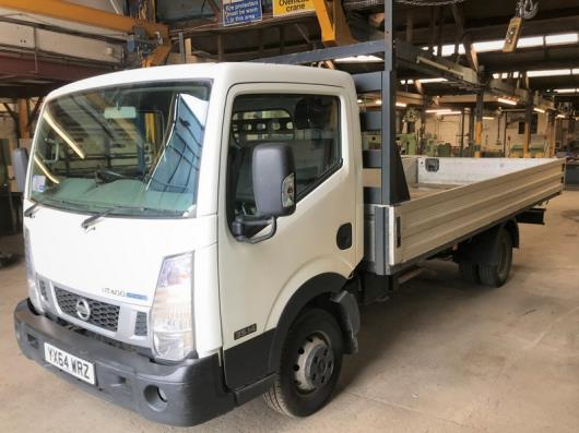 A Nissan NT400 Cabstar 35.14 LWB DCI Dropside Truck Reg. No.YX64WRZ, first registered 30/9/2014, indicated 77,391 miles,…