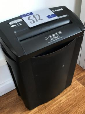 A Rexel Alpha Document Shredder (located at The Old Exchange, 514