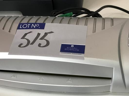 A Sigma EL142 Laminator (located at The Old Exchange, 514 Liverpool