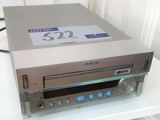 A Sony HCD-SD1 Compact Disc Receiver (located at The Old Exchange,