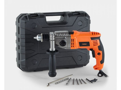 (DD55) 1200w 2 Speed Impact Drill Sturdy metal gear housing is robust for use in toughest cond...(DD55) 1200w 2 Spe…