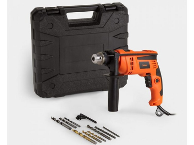 (DD61) 710W Impact Drill Switch the button on the top to select hammer or drilling functions ...(DD61) 710W Impact …