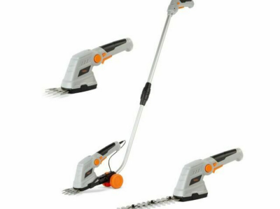 (GE34) 7.2V 2 in 1 Grass and Hedge Trimmer with Telescopic Handle and Trolley Wheel      (GE34) 7.2V 2 in 1 Grass and He…