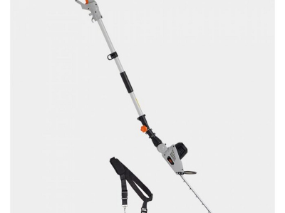 (GE110) 500W Pole Trimmer Dual-action 45cm laser-cut steel blade and 90° rotation adjustable ...      (GE110) 500W Pole …
