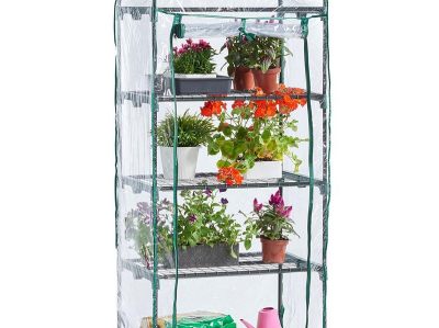 (GL31) 4 tier Mini Greenhouse.       (GL31) 4 tier Mini Greenhouse.---- Location:S4 Shipment:Deliver Only ____ NOTE FOR …