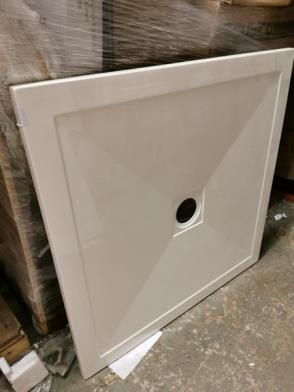 900m Square Stone Shower Tray RRP £249